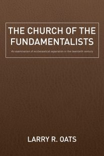 "A Book Review of ""The Church of the Fundamentalists"""